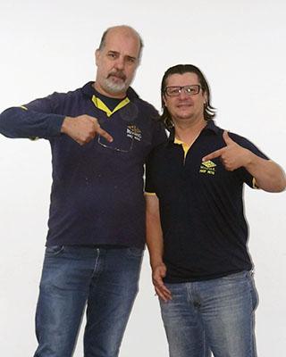Hugo Scalon e Beto Esquivel