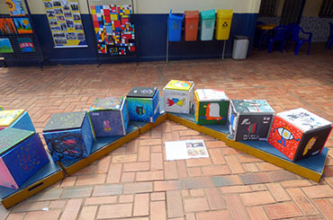 Aniversário 40 anos da Escola Masgul - exposição de arte