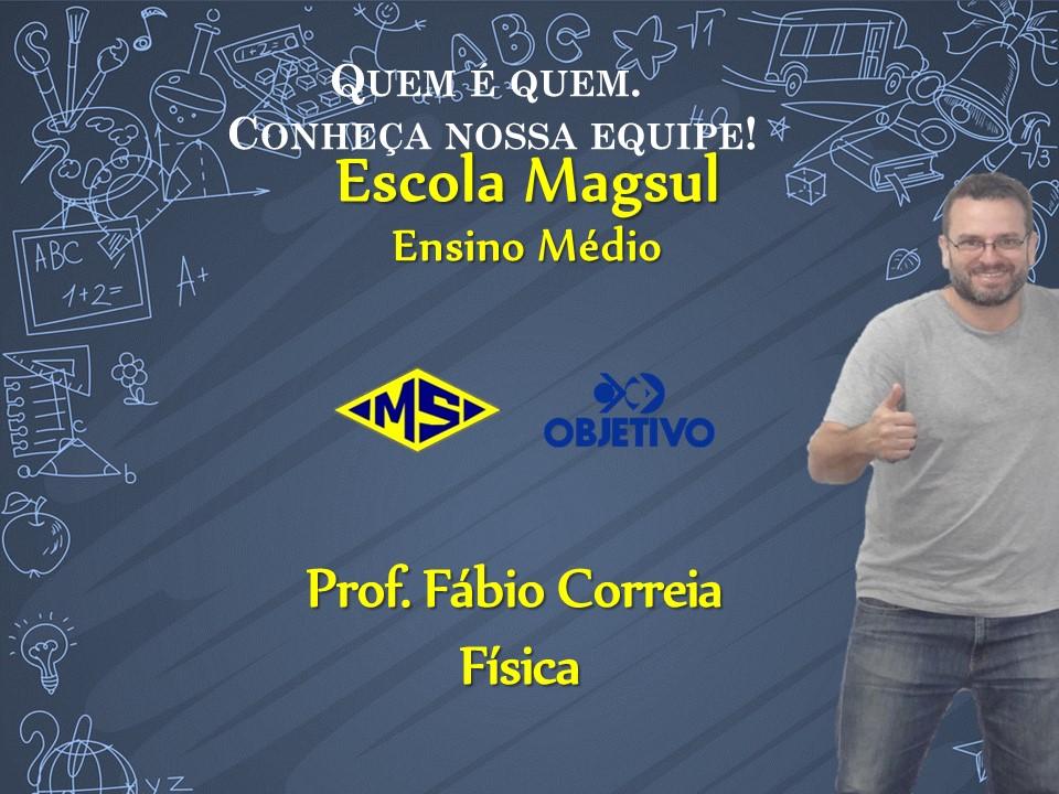 Prof. Fábio Correia