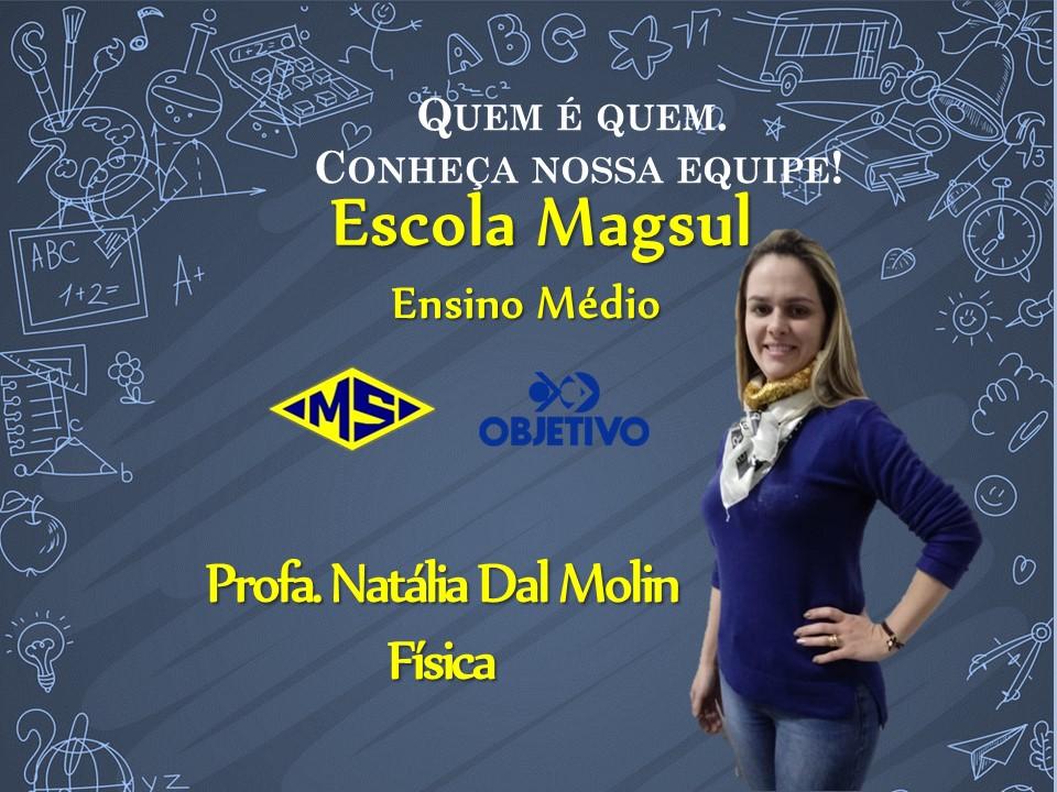 Profª Natália Dal Molin