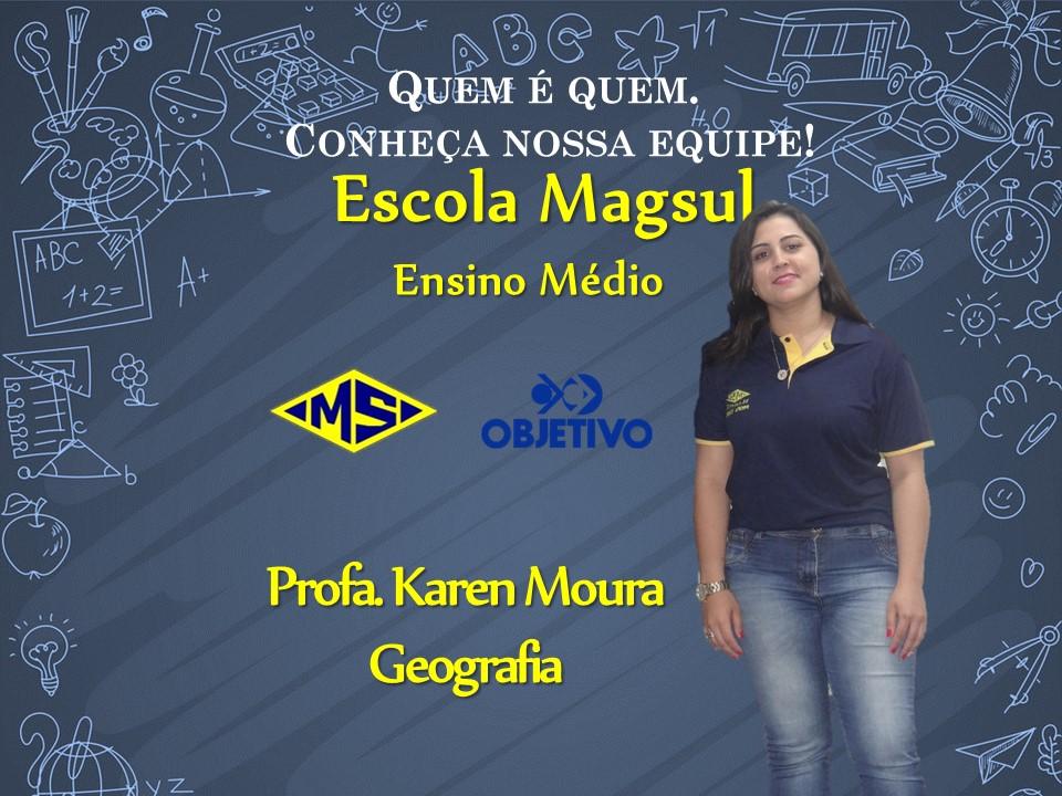 Profª. Karen Moura