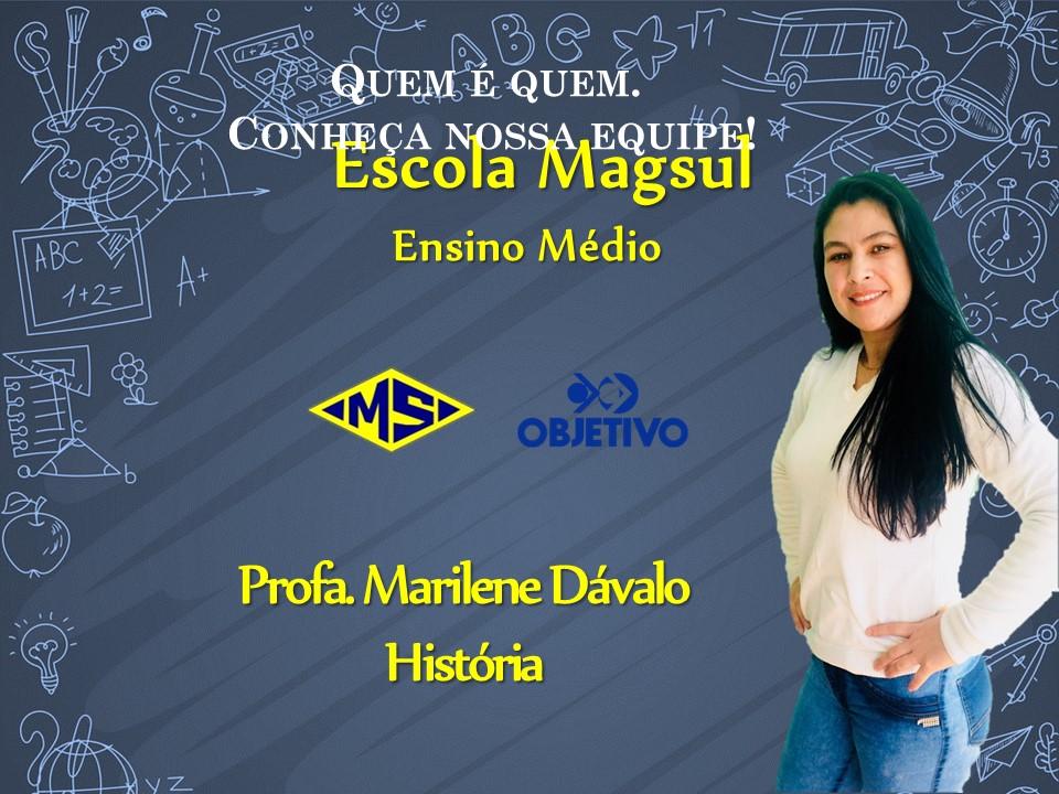 Profª Marilene Dávalo