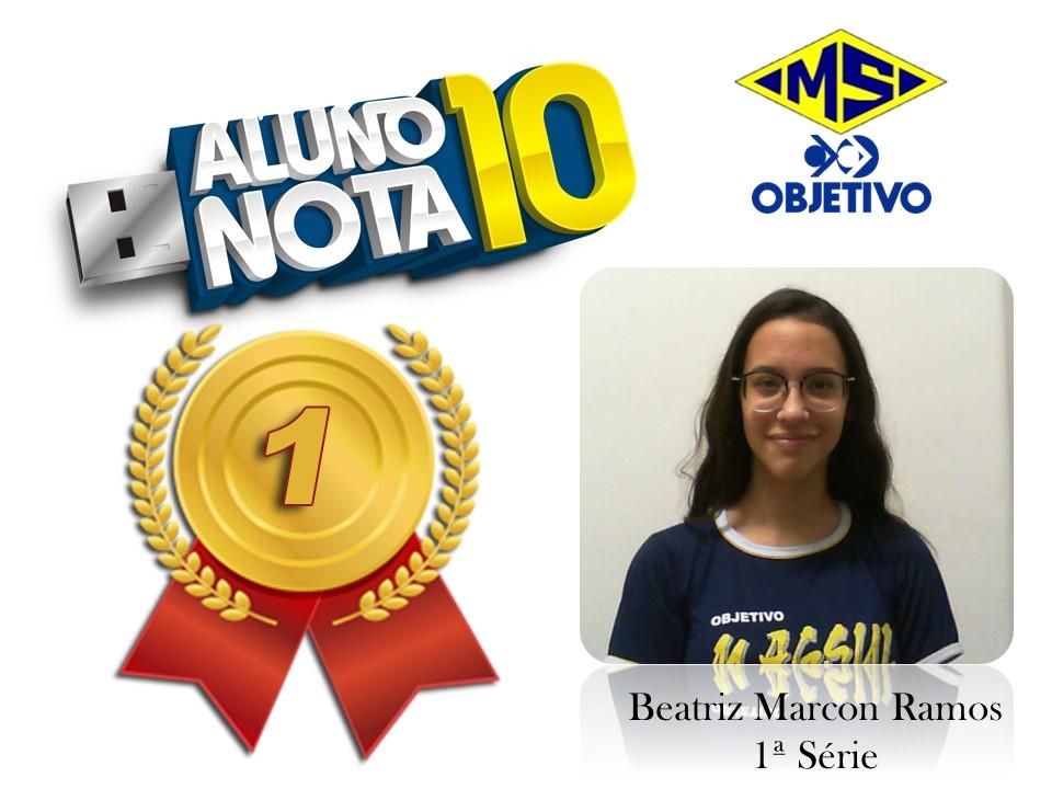 Beatriz Marcon Ramos