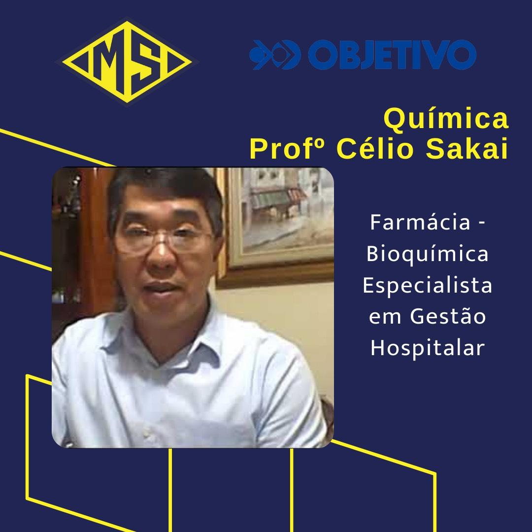 Prof. Célio Sakai